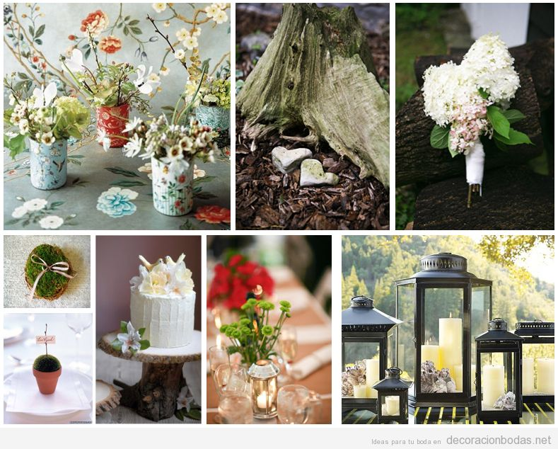 Decoracion Vintage Ideas ~ Siete ideas para decorar una boda de estilo vintage  Decoraci?n