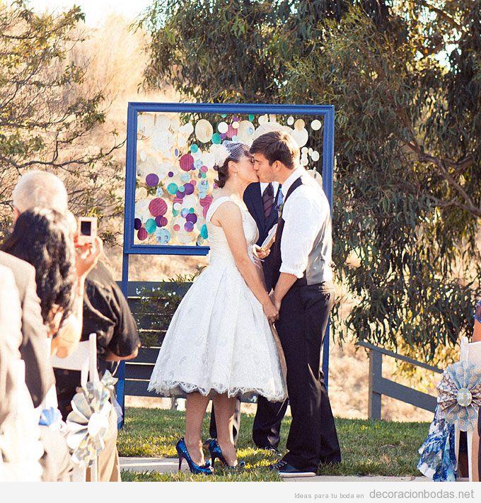Decoracion Original Para Bodas ~ de boda moderno y original para boda en el jard?n  Decoraci?n bodas