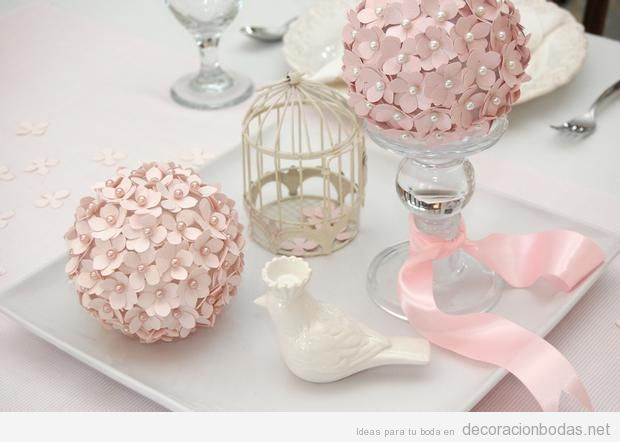 Detalles preciosos para decorar una boda