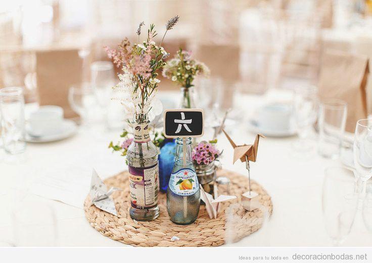 Decoracion Original Para Bodas ~ Decoraci?n de boda original, centro de mesa estilo japon?s