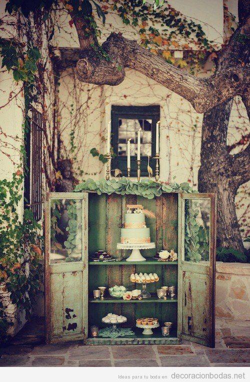 Jardines y aire libre decoraci n bodas todo para for Decoracion jardin vintage