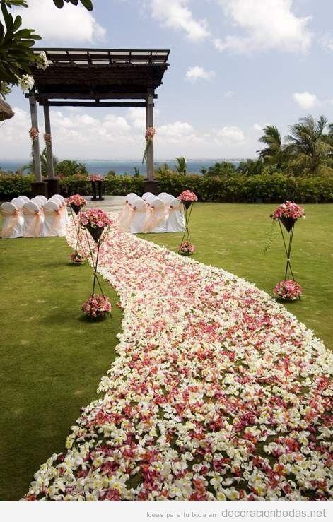 Jardines y aire libre decoraci n bodas todo para for Boda en un jardin