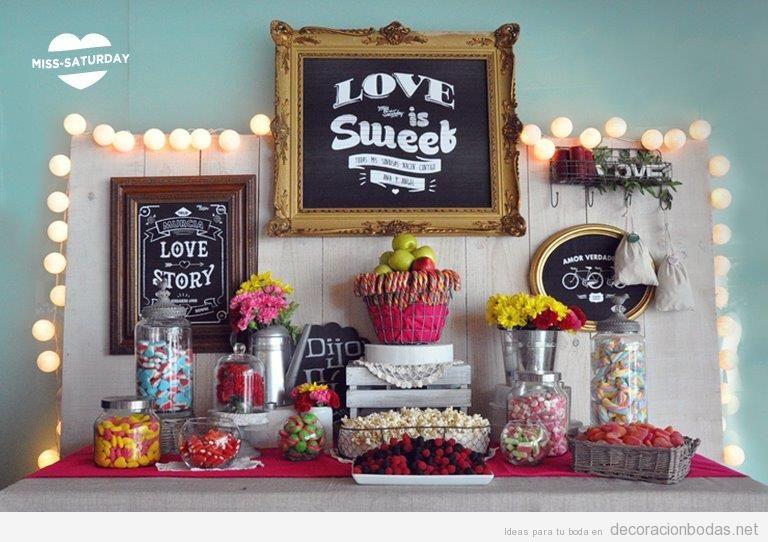 Candy bar boda 2