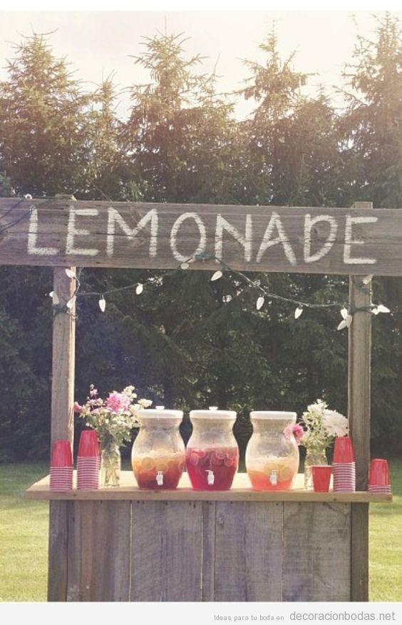 Ideas para bodas originales, decoraci?n de salones y mesas para bodas