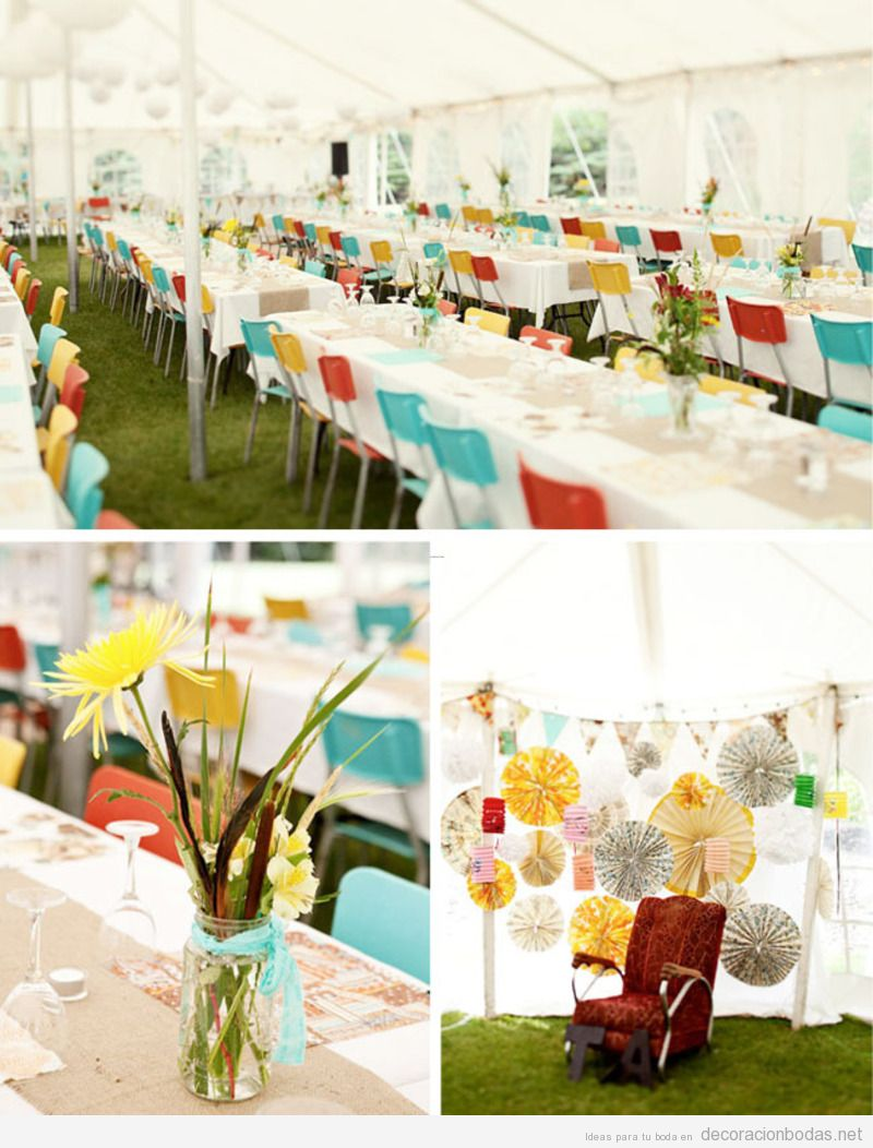 Carpa archivos decoraci n bodas for Adornos boda jardin