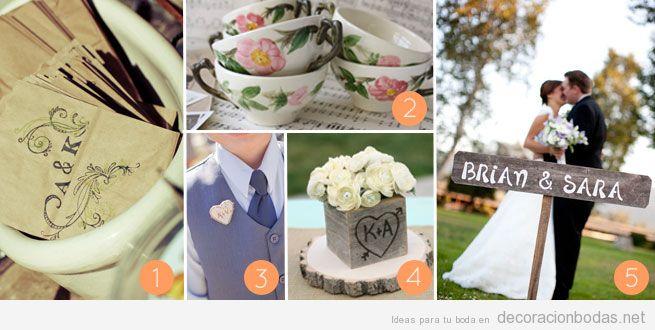 ideas para decorar una boda rstica en el campo