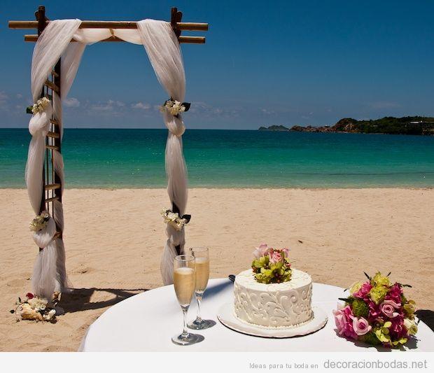 Madera archivos p gina 3 de 3 decoraci n bodas - Decoracion boda playa ...