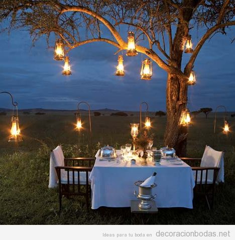 Luces archivos decoraci n bodas for Luces para jardin exterior