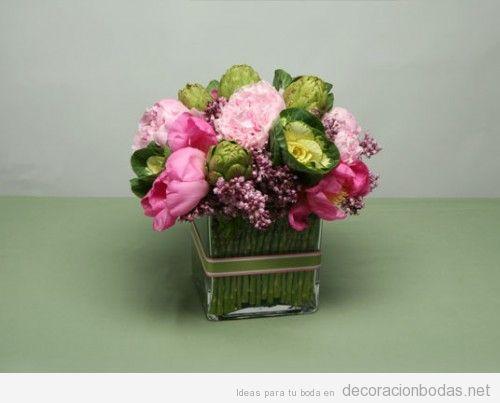 centro-mesa-boda-flores-diy