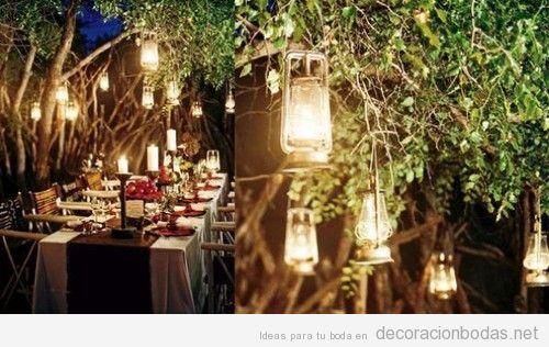 Farolillos archivos decoraci n bodas for Boda en un jardin