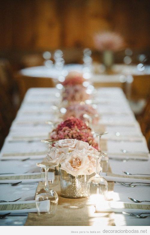 Idea para decorar bodas de oro