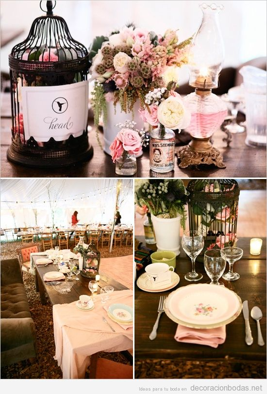 Detalles originales para una boda con decoraci n estilo for Detalles de decoracion