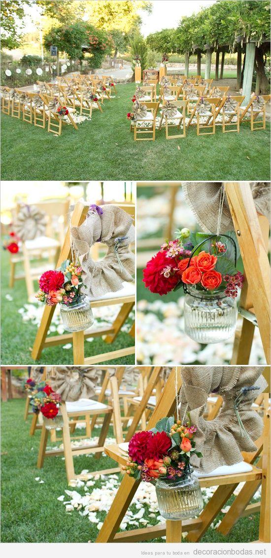 Sillas archivos decoraci n bodas for Ideas para boda en jardin
