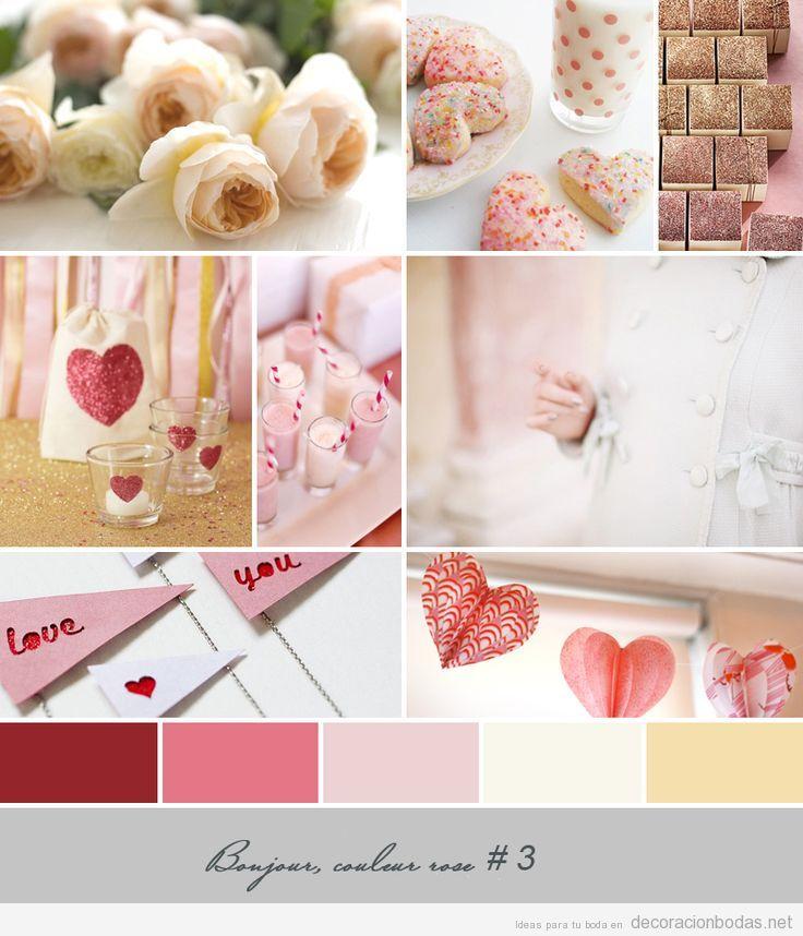 Detalles en varias tonalidades de rojo y corazones para - Detalles de decoracion ...