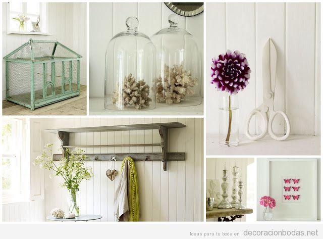 detalles bonitos para decorar una boda con un aire vintage