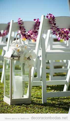 ideas para decorar una boda en el jardn