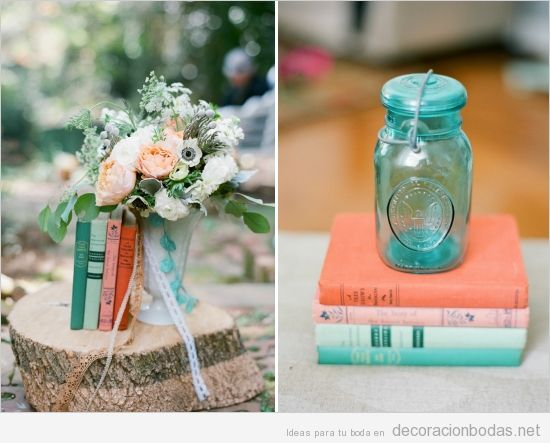 Novelas y botecitos de cristal para decorar una boda de for Articulos decoracion hogar baratos