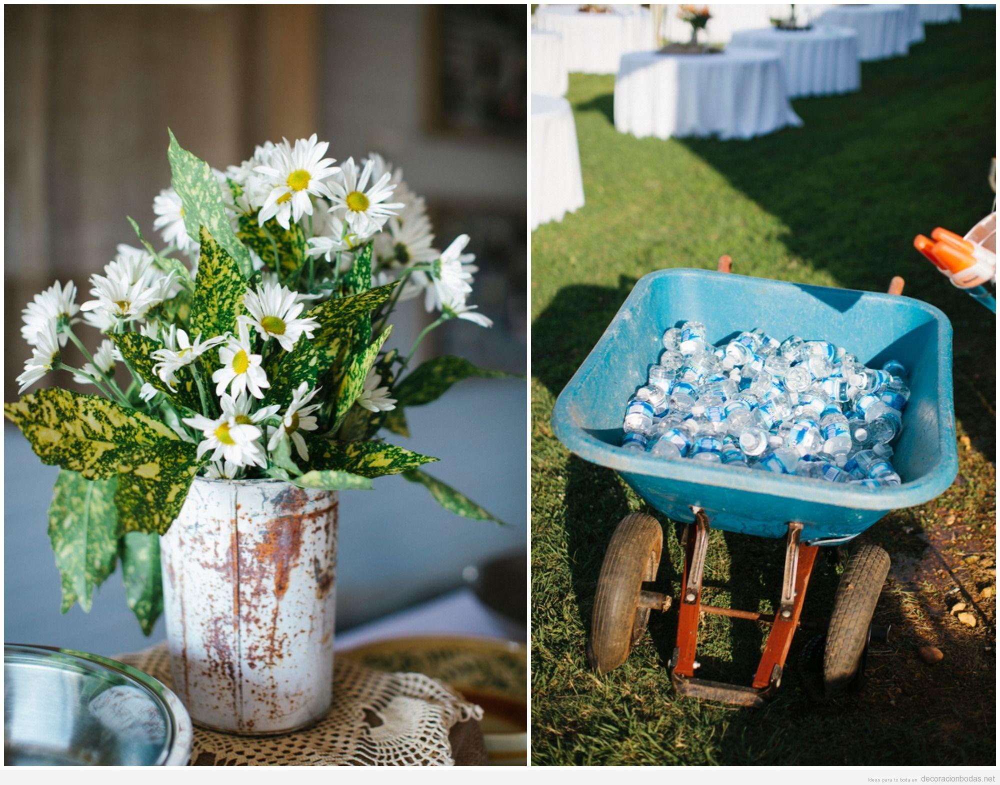 Ideas originales para decorar una boda campestre