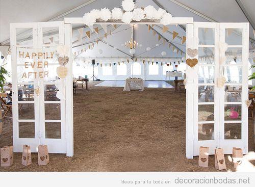 ideas para decorar un saln de bodas en un granero o granja