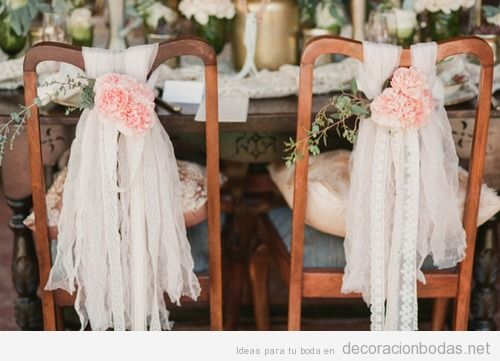 Encaje archivos decoraci n bodas for Sillas para novios en la iglesia