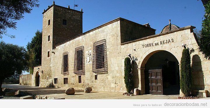Un lugar perfecto para celebrar tu enlace en Alicante: Torre de Reixes