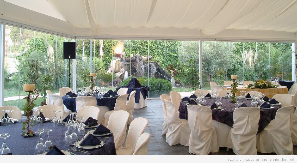Cerramientos de terrazas para celebrar tu boda