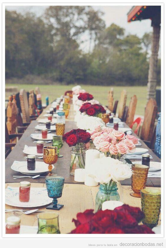 Varias ideas para tener una boda hippie de ensueño