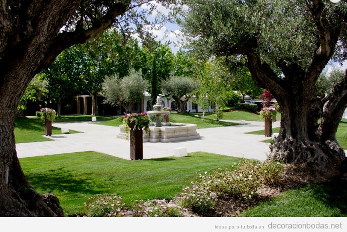 Salones archivos decoraci n bodas for Boda en un jardin