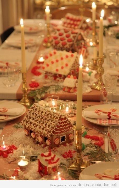 Ideas para decorar mesas de boda en Navidad 5