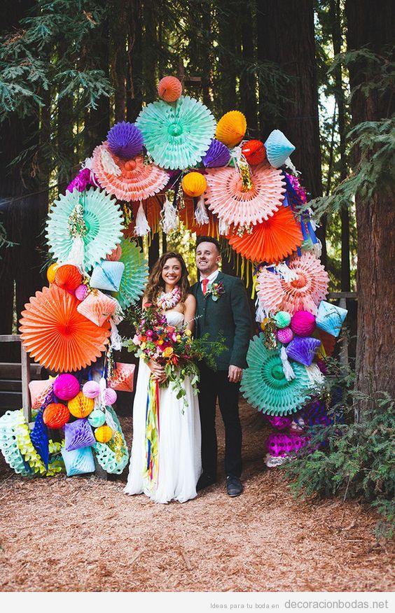 Ideas para decorar una boda de estilo mexicano decoracin bodas altar boda estilo mexicano altavistaventures Gallery