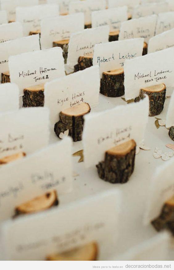ideas originales para decorar una boda invernal • decoración bodas