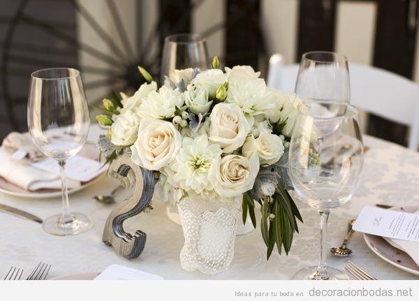 Cómo decorar una mesa para una boda