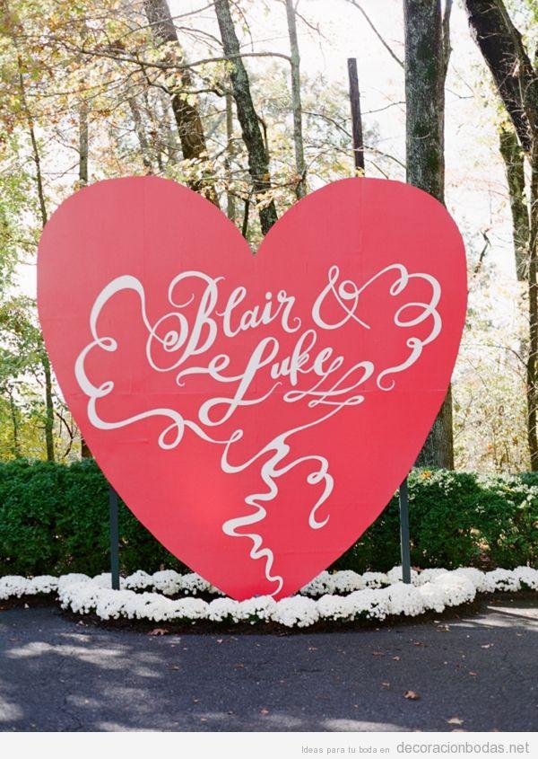 Ideas para decorar una boda en San Valentín llena de corazones