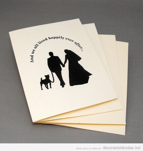 Ideas para decorar y detalles para una boda «dog friendly» o con perros