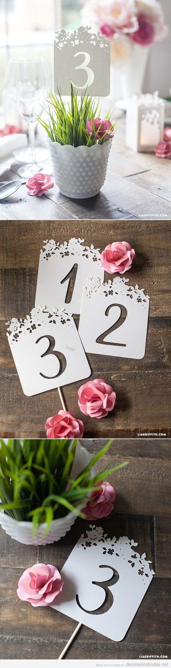 Manualidades para decorar una boda en primavera 5