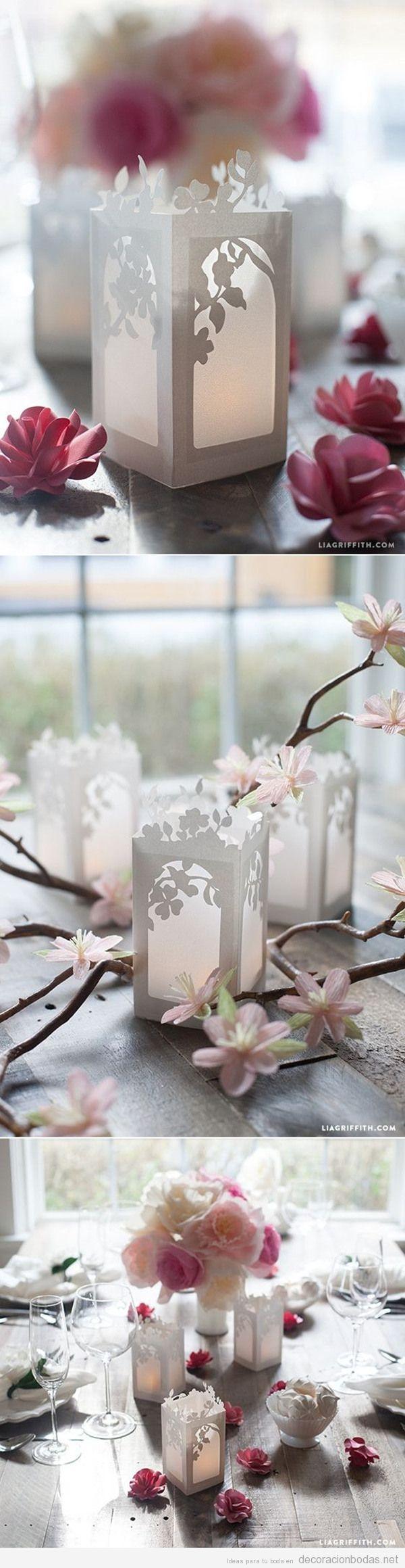 Manualidades para decorar una boda en primavera 6