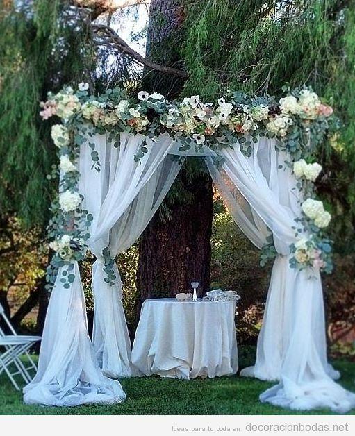 cómo decorar una boda al aire libre, más de 15 ideas para una