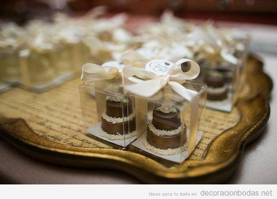 Regalos invitados de boda de chocolate 2