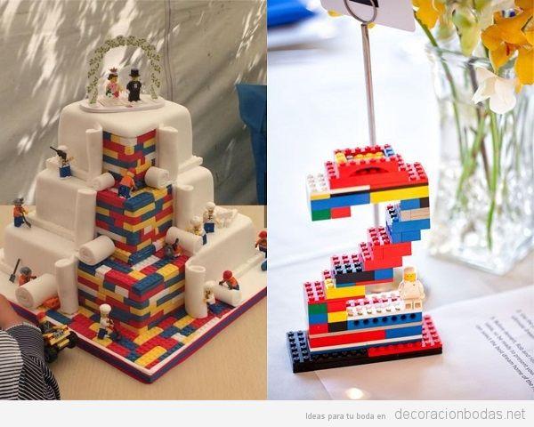 Bodas frikis Lego 2