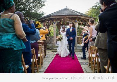 Ideas para la decoración de una boda civil bonita y con alma