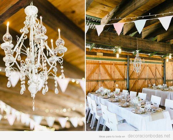 Tendencias en las lámparas de boda: la importancia de la iluminación para crear ambiente