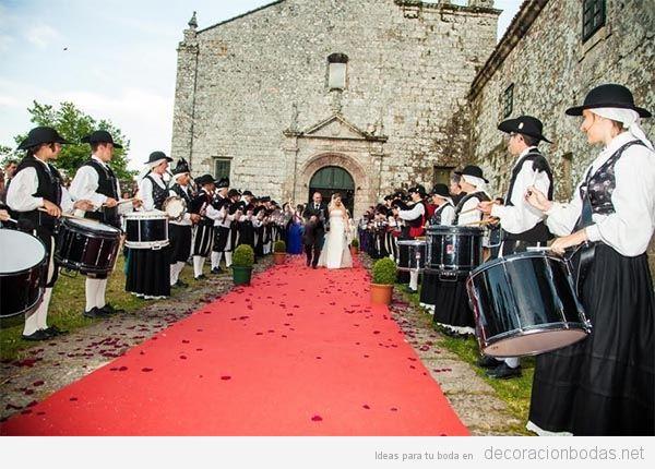 Música para bodas con gaiteros