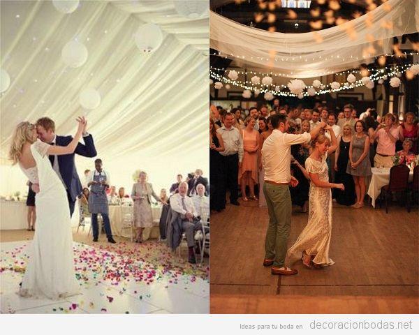 Pista de baile boda vintage