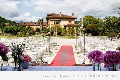 Una casa de indianos o un hórreo, dos escenarios perfectos para un restaurante de bodas
