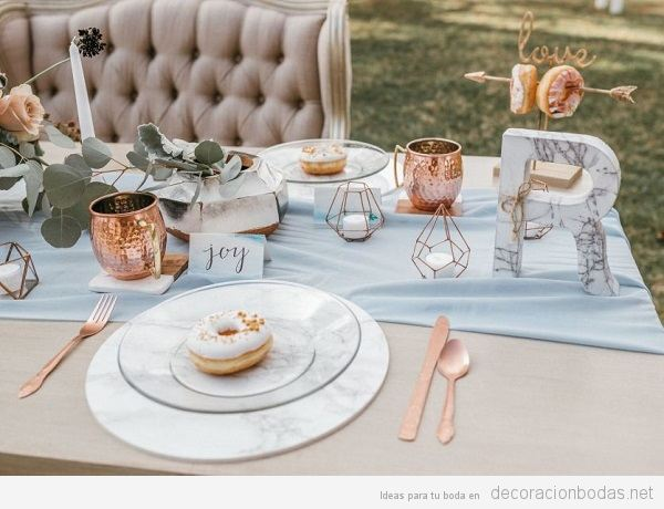 10 Tendencias de Decoración de Boda en 2018 Imprescindibles