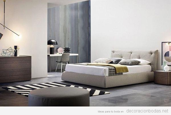 Dormitorios con dise o para el nido de amor decoraci n bodas - Dormitorios de matrimonio de diseno italiano ...