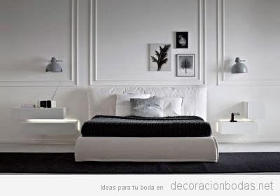 Dormitorios con diseño para el nido de amor