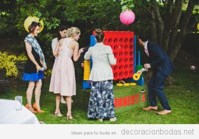 10 Juegos para boda muy divertidos… ¡y no solo para niños!