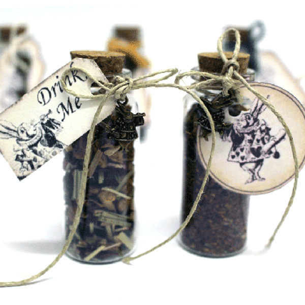 Detalles de boda originales botecitos de té