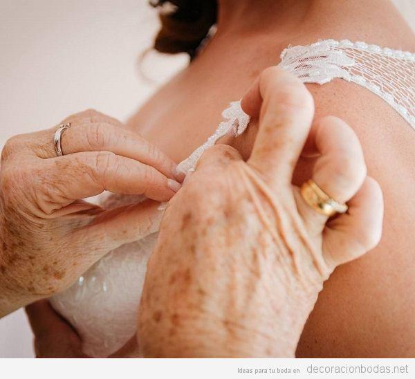 Fotografía de bodas natural